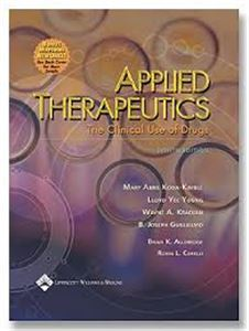 Picture of Applied Therapeutics: The Clinical Use of Drugs